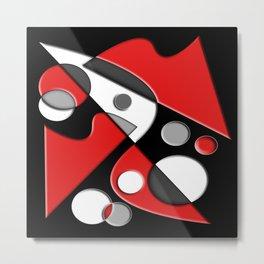 Abstract #517 Metal Print