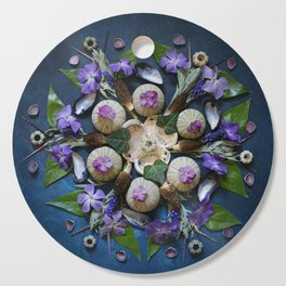 Nature Mandala: April II Cutting Board