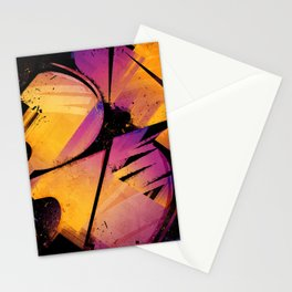 B--Abstract Stationery Cards