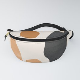 Abstract Plateau Fanny Pack
