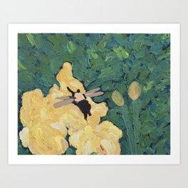 Buzzy Art Print