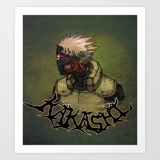 Flesh Eating Sensei?! Art Print