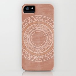 Desert Sun Dial iPhone Case