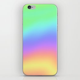 Holographic Foil Colorful Gradient Pattern iPhone Skin