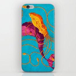 Whale vs Squid USB Robots iPhone Skin