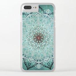Mystic Mandala Clear iPhone Case