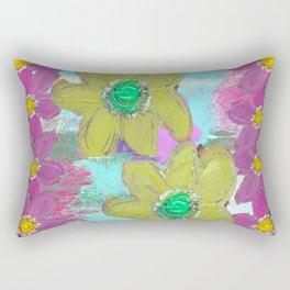 FLORAL MASHUP Rectangular Pillow