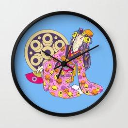 Licorice Lady Wall Clock