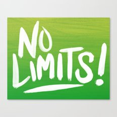 No Limits! Canvas Print