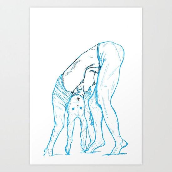 Girl 4 Art Print