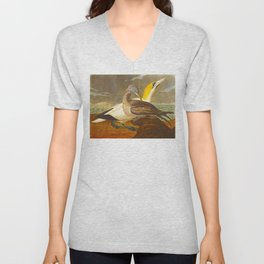 Gannet Bird Unisex V-Neck