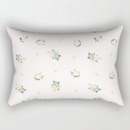 Floral pink Rectangular Pillow