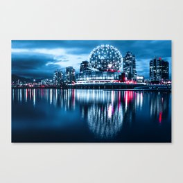cyber science world Canvas Print