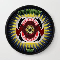 It's Morphin' Time - Green Ranger Wall Clock