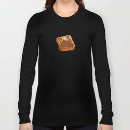 Leslie Knope + Giant Waffle Long Sleeve T-shirt