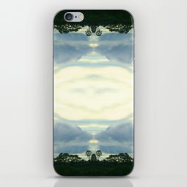 crack in the sky iPhone Skin