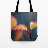 leaf Tote Bags featuring Leaf by Dora Birgis