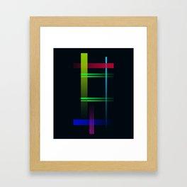 Lines HT Framed Art Print