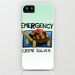 Clyde the Emergency Crime Solver! iPhone Case