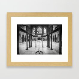 #laAlhambradeldia 208 Framed Art Print