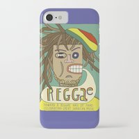 reggae iPhone & iPod Cases featuring Reggae by Timea Koncz