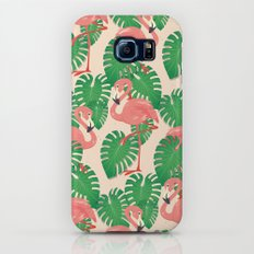 Flamingo in Tropical Forest Galaxy S7 Slim Case
