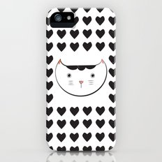 neko love iPhone (5, 5s) Slim Case