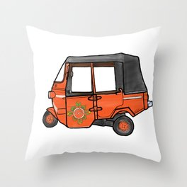 Jakarta Bajaj Couture Throw Pillow