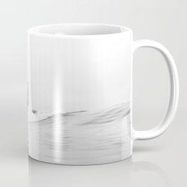 Minimal Surfing BW Coffee Mug
