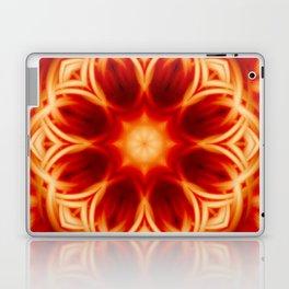 Fire Lotus Mandala Laptop & iPad Skin