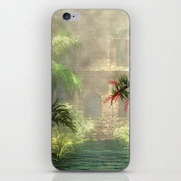 Lost City in the jungle iPhone Skin