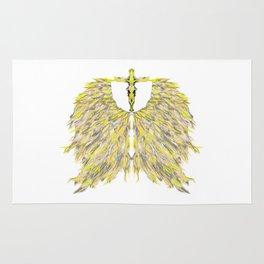 Cross with Angel wings Rug