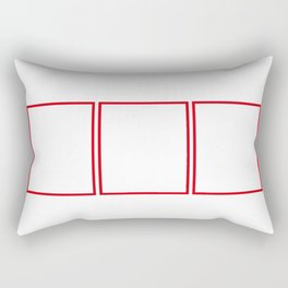 Natal Periodic Elements Spelling Rectangular Pillow