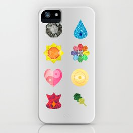 Kanto Region Badges iPhone Case
