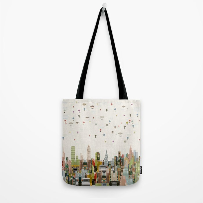 the great wondrous balloon race Tote Bag