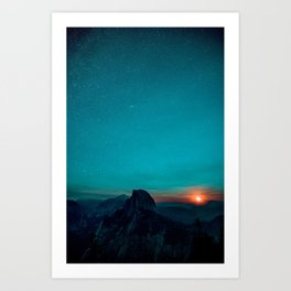 The Sunrises (Color) Art Print