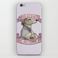 patriarchy iPhone & iPod Skins featuring Pups against the Patriarchy  by cyrrs