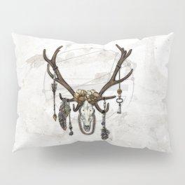 Bestial Crowns: The Elk Pillow Sham