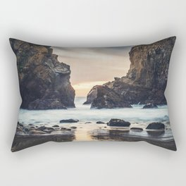 When Ocean Dreams Rectangular Pillow