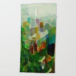 City Park Beach Towel