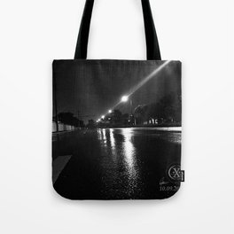 The Night Before Irma Tote Bag