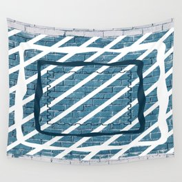 striped stamp Wall Tapestry