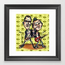 Ben Weasel & Joe Queer Framed Art Print