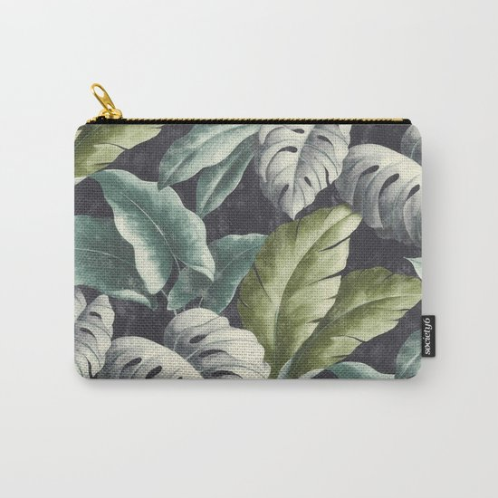 botanical pattern Carry-All Pouch