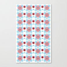 Dots Bubbles  Canvas Print