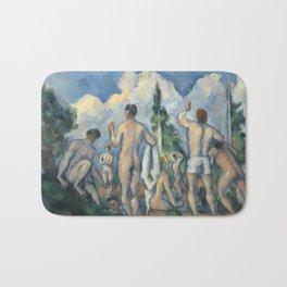 Paul Cézanne - Bathers, 1890 Bath Mat