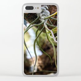Botanical Gardens Montreal Clear iPhone Case
