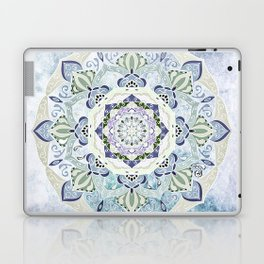 BLUE YERA MANDALA Laptop & iPad Skin