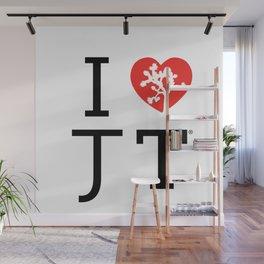 I love Joshua Tree by CREYES Wall Mural