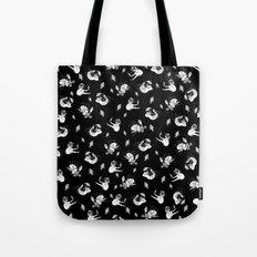 Pet Fish - Black Print Tote Bag